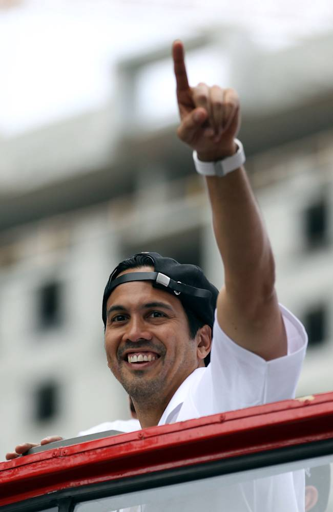 Heat signs Spoelstra to multiyear extension
