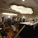 Iowa head coach Kirk Ferentz talks to the media during the Big Ten Football Media Day in Chicago, Monday, July 28, 2014 The Associated Press