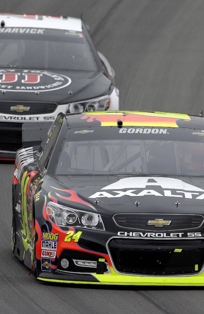 Gordon races to first win at Michigan since 2001