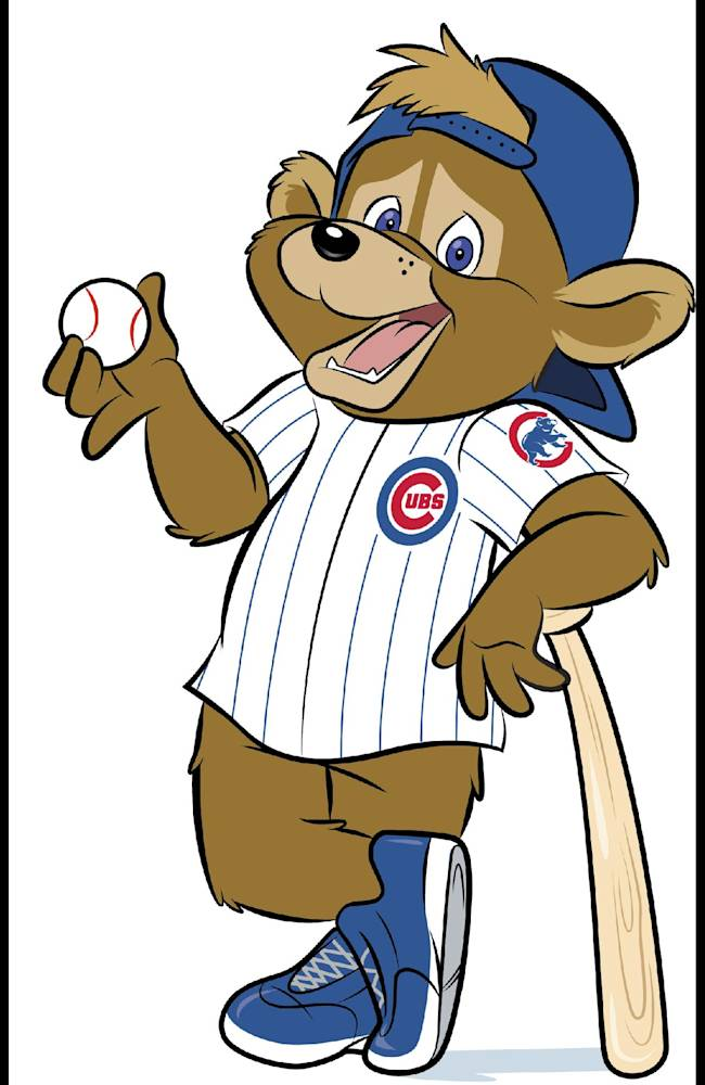This artist's rendering provided Monday, Jan. 13, 2014, by the Chicago Cubs shows Clark, a new mascot being introduced Monday for the first time in team history. The team will officially introduce Clark during a visit with children at Advocate Illinois Masonic Medical Center's Pediatric Developmental Center in Chicago. The team plans on having Clark greet fans at Wrigley Field before and during games