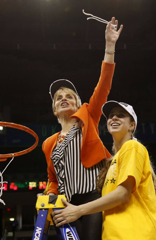 Davis, Sims lead Baylor to Big 12 women's title