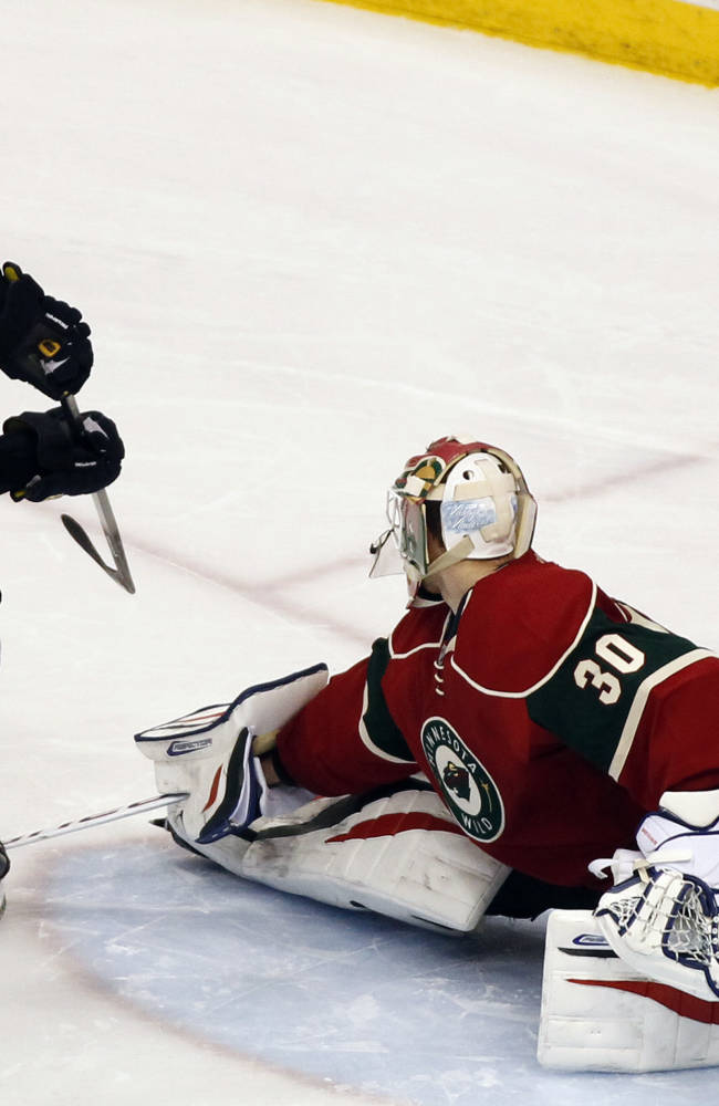 Oshie, Steen score in shootout, Blues top Wild