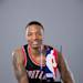 PORTLAND, OR - MAY 1: Damian Lillard #0 of the Portland Trail Blazers poses with the Eddie Gottlieb Trophy after winning the 2012-2013 Kia NBA Rookie of the Year award on May 1, 2013 at the Rose Garden Arena in Portland, Oregon. (Photo by Sam Forencich/NBAE via Getty Images)