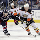 Hartnell scores 3, Jackets come back for 5-3 win over Ducks The Associated Press