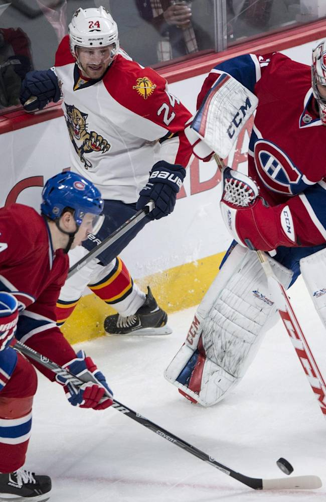 Gionta lifts Canadiens to 2-1 win over Panthers
