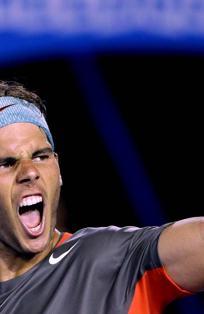 Too good for Federer, Nadal into Aussie final
