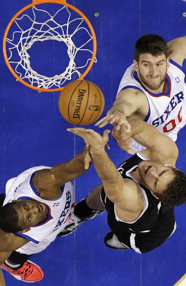 Turner hits OT winner, 76ers tops Nets 121-120