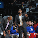 Injured Chris Paul works out on court for Clippers The Associated Press
