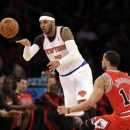 Anthony may sit out Knicks' last 2 games The Associated Press