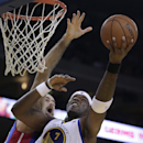 Warriors' O'Neal has bruised knee, groin strain The Associated Press