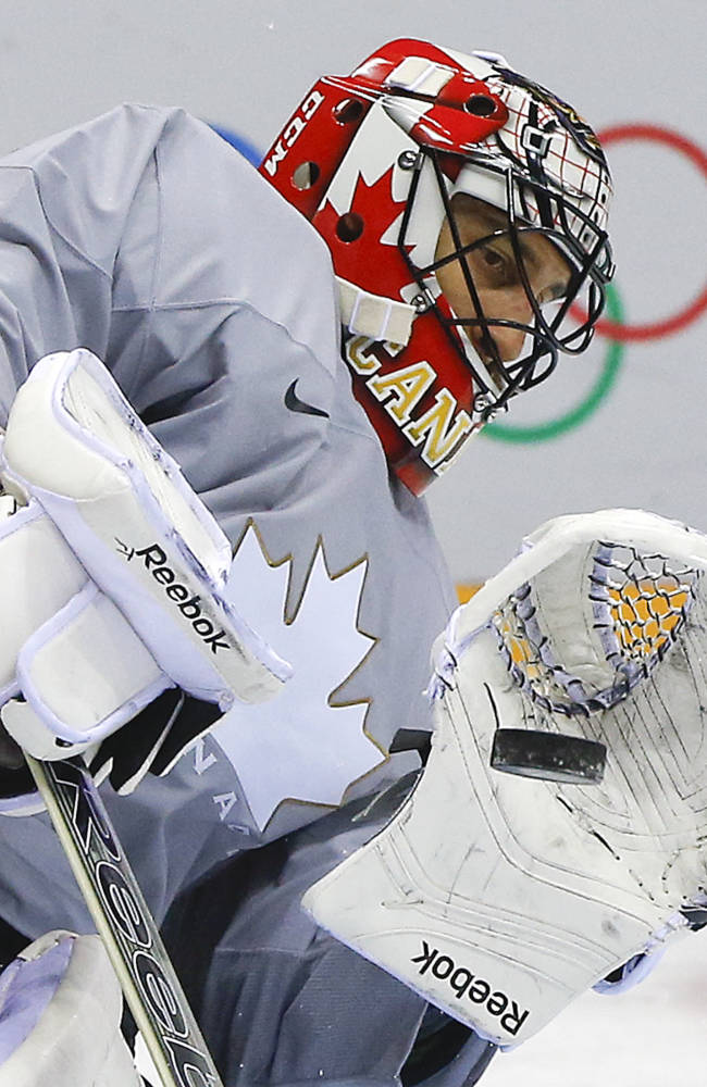 Goalie Price to start Canada's 1st Olympic game