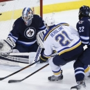 Steen Scores Winner In SO To Lift Blues Past Jets