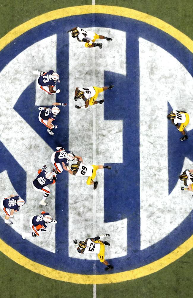 SEC back in familiar spot - playing for a title