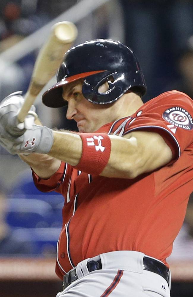 Zimmerman powers Nationals past Marlins 9-2