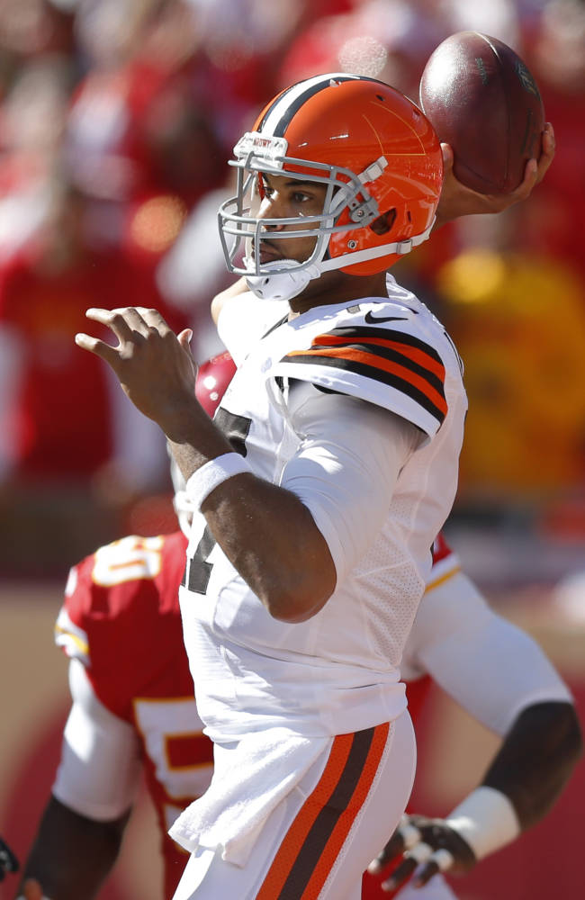 Campbell gives Browns strong start, optimism
