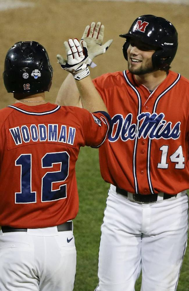 Rebels lose 2-1 to Virginia in CWS on hit in 9th