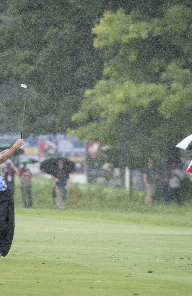 Tim Clark rallies to win Canadian Open