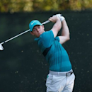 Jul 29, 2016; Springfield, NJ, USA; PGA golfer Rory McIlroy tees off on the 16th hole during the second round of the 2016 PGA Championship golf tournament at Baltusrol GC - Lower Course. Mandatory Credit: Brian Spurlock-USA TODAY Sports