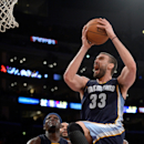 Streaking Grizzlies hold off Lakers 99-93 The Associated Press