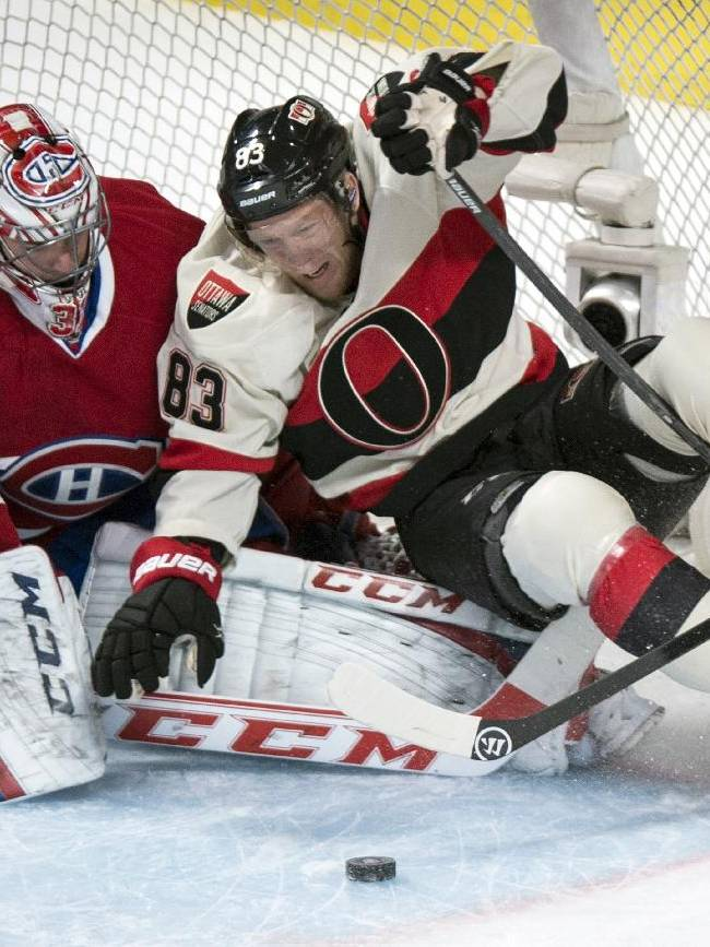 Canadiens storm back, top Senators 5-4 in OT