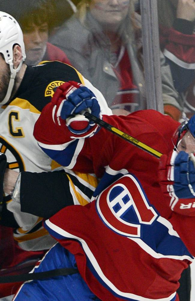 Bruins and Canadiens all knotted up 2 games apiece