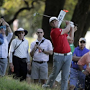 Mar 26, 2017; Austin, TX, USA; Jon Rahm of Spain lost to Dustin Johnson of the United States in the final round of the World Golf Classic - Dell Match Play golf tournament  at Austin Country Club. Erich Schlegel-USA TODAY Sports