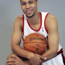 FILE - Portland Trail Blazers basketball player Brandon Roy (7) is shown during media day in this Oct. 1, 2007 file photo taken in Portland, Ore. Roy agreed to terms of a two-year deal worth $10.4 million Thursday night, and Minnesota also agreed to terms with Batum on a four-year, $45 million deal with bonuses that could make the deal worth more than $50 million. (AP Photo/Rick Bowmer, File)