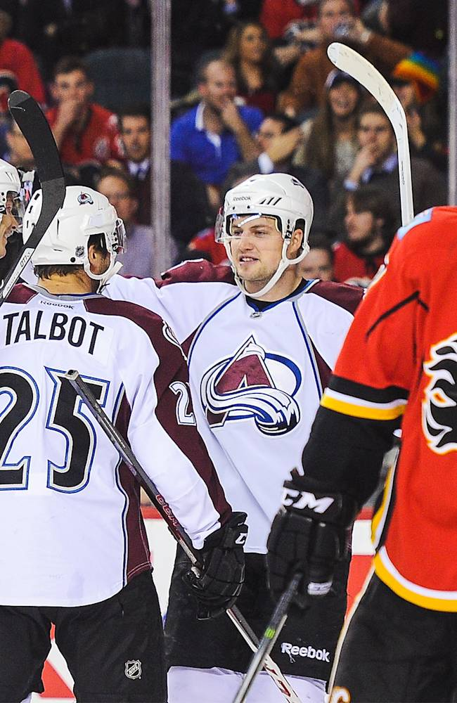 Colorado Avalanche v Calgary Flames