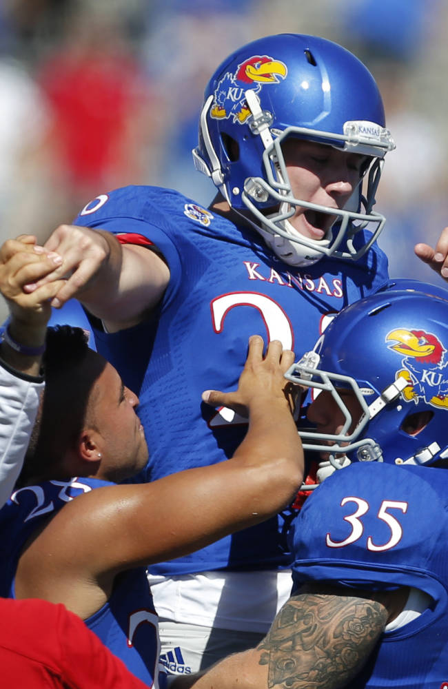 Weis believes Jayhawks may have turned corner