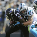 Smith leads the way as Ravens beat Panthers 38-10 The Associated Press