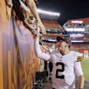 Manziel willing to share nickname with A&M's Hill The Associated Press