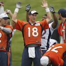 Peyton Manning rolls with the changes in Denver The Associated Press