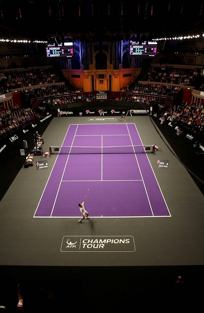 Statoil Masters Tennis - Day One