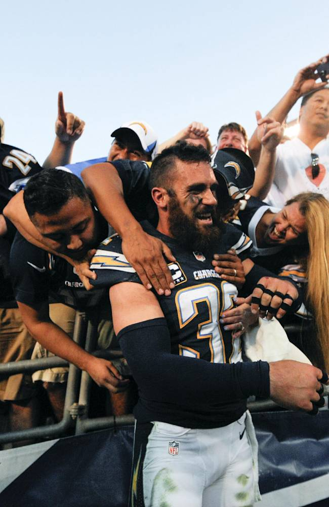 Weddle: Chargers 'ecstatic' to be in playoffs