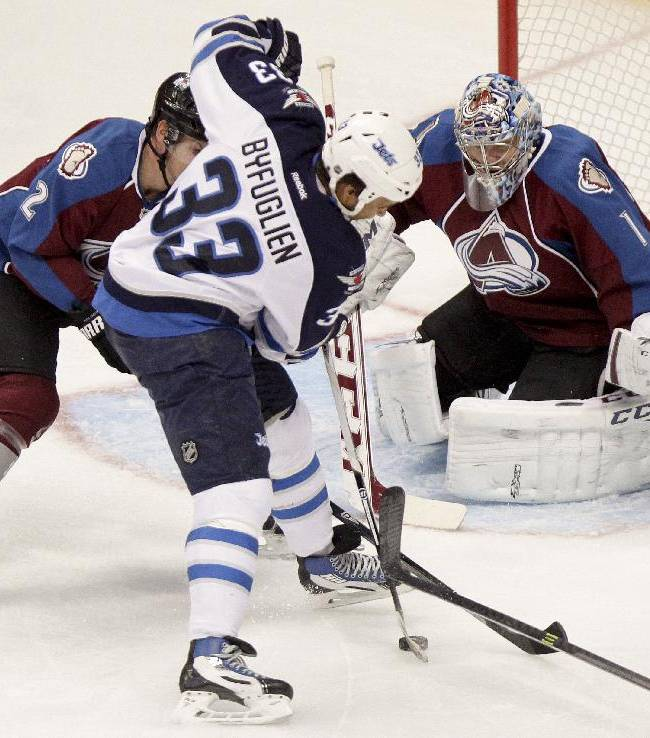 Duchene scores winner in OT as Avs beat Jets 3-2