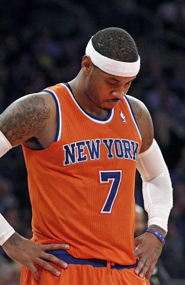 Knicks frustrated, confused with lack of effort
