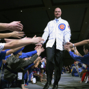 Chicago Cubs pitcher Jon Lester greets fans during opening night of the annual Cubs Convention, Friday, Jan. 16, 2015 in Chicago The Associated Press