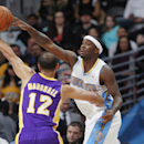 Faried, Lawson lead Nuggets past Lakers 134-126 The Associated Press