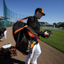 Orioles catcher Wieters hopes to ready for opening day The Associated Press