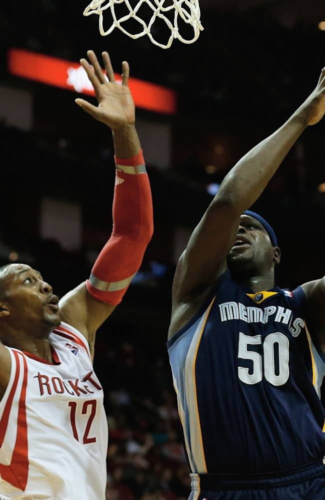 Grizzlies outlast Rockets 88-87