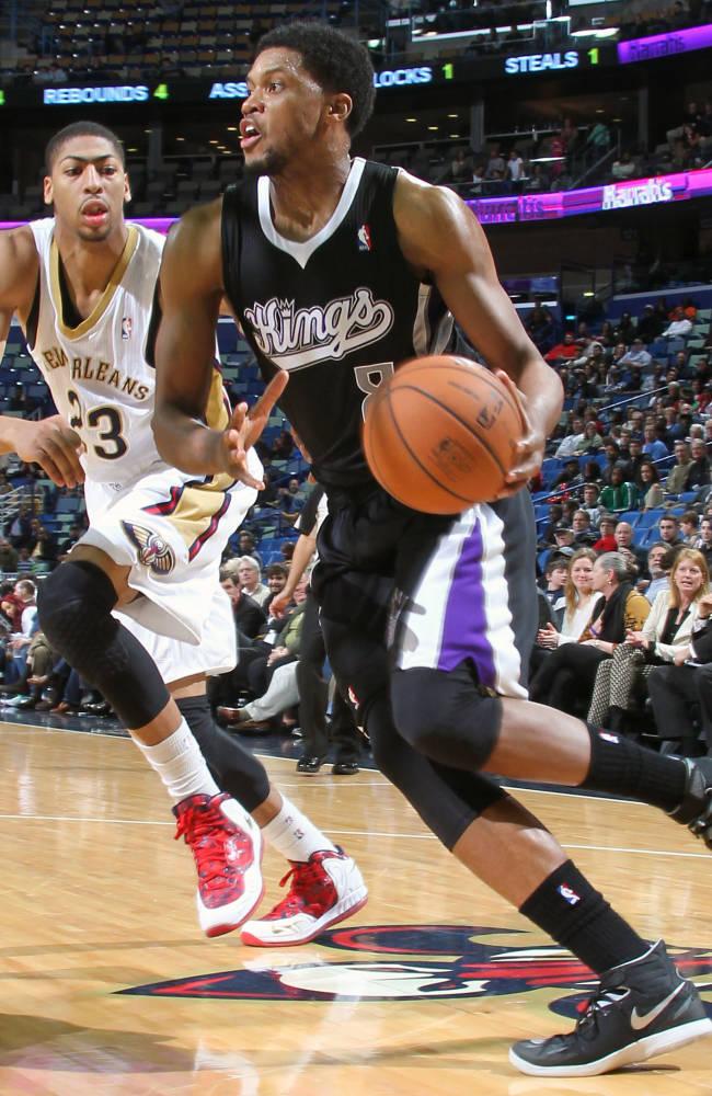 Gay scores 41, Kings down Pelicans 114-97