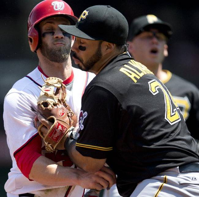 Harper's homer in 9th lifts Nats past Pirates 9-7