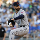 Indians' Kluber is perfect through 6 innings The Associated Press