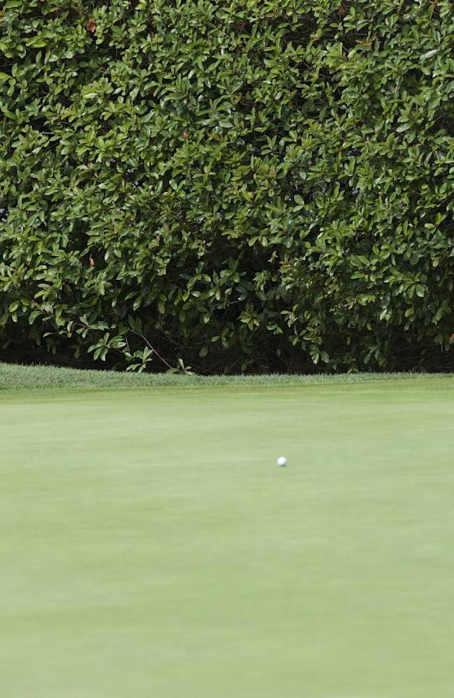 I.K. Kim putts on the seventh hole during the second round of the Portland Classic LPGA golf tournament, Friday, Aug. 29, 2014, in Portland, Ore