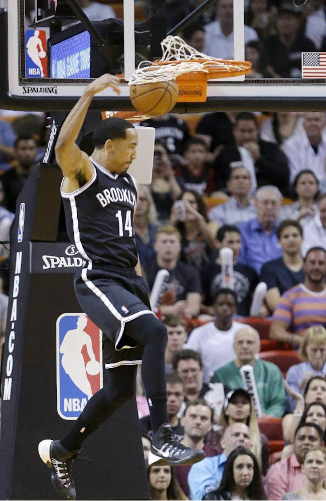 Nets finish off sweep of Heat, win 88-87