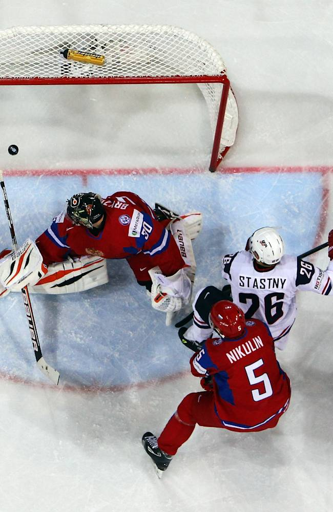 Russia v USA - 2013 IIHF Ice Hockey World Championship Quarterfinals