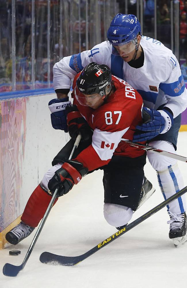 Canada not worried about no goals from Crosby