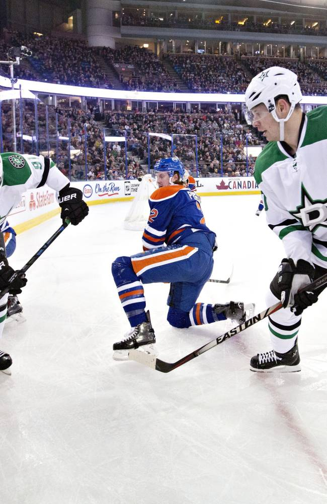 Seguin helps Stars past Oilers 6-5 in shootout