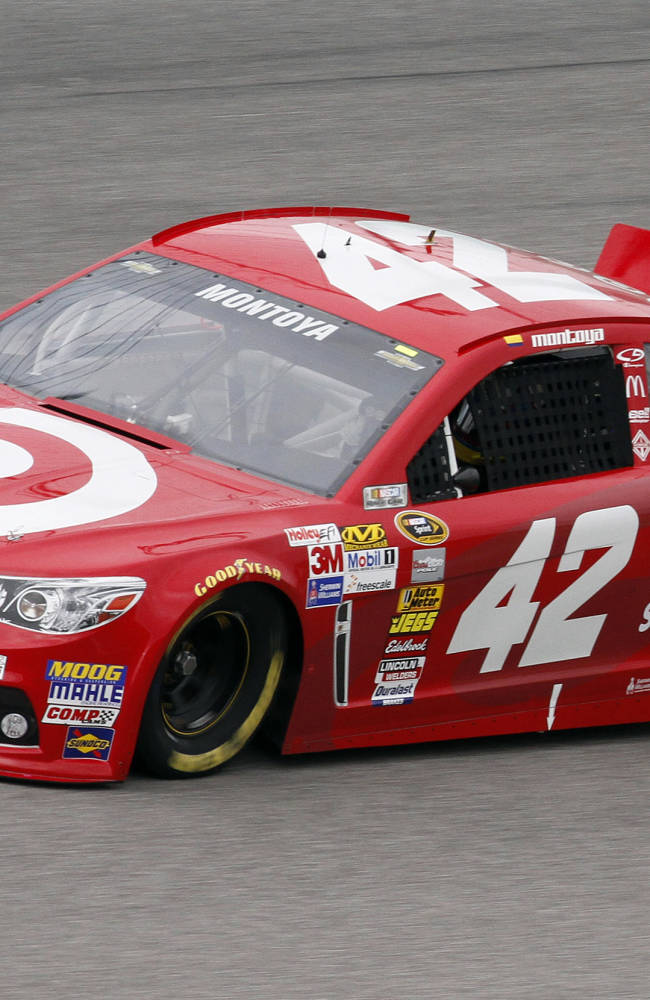 Juan Pablo Montoya prepares for final NASCAR race