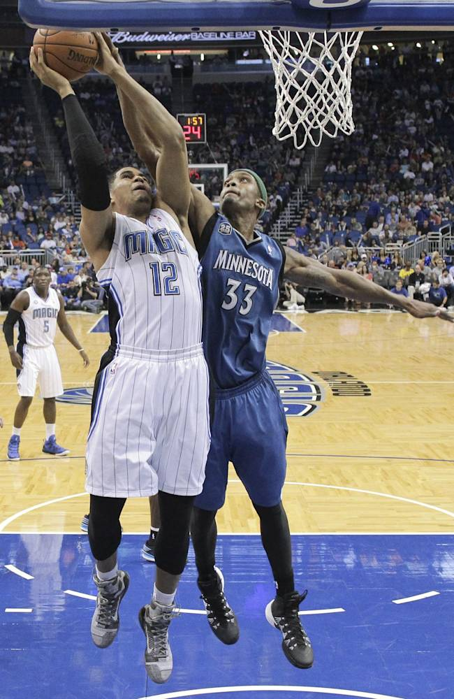 Afflalo helps rally Magic past Timberwolves 100-92